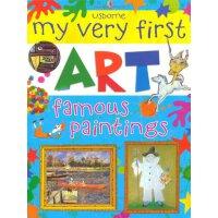 Famous Paintings英文原版进口儿童趣味艺术书:世界名画