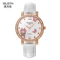 女士手表 时尚商务韩版女表 奢华镶钻石英手表腕表