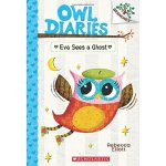 A Branches Book: Owl Diaries #2: Eva Sees a Ghost