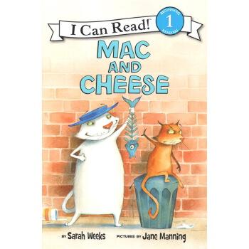 英文原版 Mac and Cheese I Can Read L1 分级读物绘本 小学生英语启蒙故事书