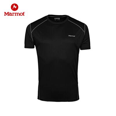 99元包邮  Marmot/土拨鼠  速干T恤圆领轻薄透气宽松短袖 Q60390