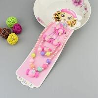 儿童项链套装美丽公主宝宝手链发夹皮筋配饰小女孩女童礼物首饰品