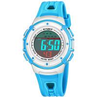 防水夜光学生电子手表多功能运动儿童电子表