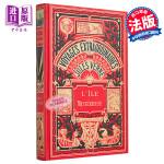 【中商原版】凡尔纳 神秘岛1 L ile mystérieuse Tome 1 法文 Jules Verne