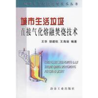 【旧书二手书9成新】 城市生活垃圾直接气化熔融焚烧技术――城市生活垃圾处理技术丛书
