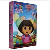 儿童卡通片DVD 光盘 爱探险的朵拉 第二季(11-20集)5DVD 动画片 视频 光盘