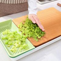 多功能菜板整竹切菜板家用宝宝辅食水果塑料案板套装组合砧板