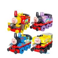 托马斯积木玩具 托马斯积木玩具小火车拼装玩具礼物男孩子3-6-10岁 托马斯全套4款(332块)