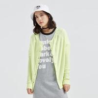 美特斯邦威女装多色两面穿毛衣针织衫218817