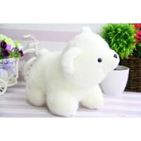 北极熊公仔 毛绒玩具公仔小号小白熊趴趴熊抱枕女孩儿童生日礼物玩具熊 白色 《乳白色》