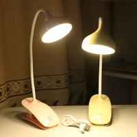 夹子小台灯护眼夹式床头灯儿童学习保视力书桌宿舍可充电