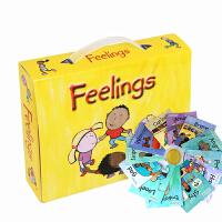 文脉书局 英文原版点读绘本The Feelings情绪管理儿童英语绘本早教套装 支持小BOOK点