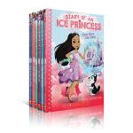 顺丰发货 英文原版章节书 Diary of an Ice Princess 冰雪公主日记1-2册 now Place