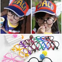 儿童装饰眼镜无镜片潮男童女童眼镜宝宝小孩款框架多色