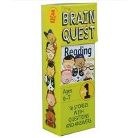 现货 原版 Brain Quest Grade 1 Read 益智挑战 一年级阅读6-7岁