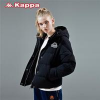 Kappa卡帕女款羽绒服防寒服连帽保暖外套 2019新款K0962YY70D