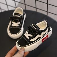儿童帆布鞋软底宝宝鞋男童布鞋女童板鞋休闲鞋春