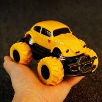 变形5玩具儿童遥控汽车金刚男孩大黄蜂甲壳虫车