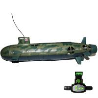 核潜艇海狼号遥控船潜水艇儿童电动玩具船模男军舰c 官方[升级版] 官方标配