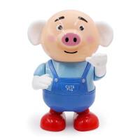 抖音同款网红玩具海草舞电动小猪萌萌猪机器人会走路唱歌跳舞儿童玩具