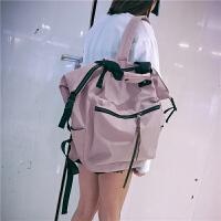 明星同款2020年新款韩版双肩包女大容量旅游旅行百搭背包学生书包