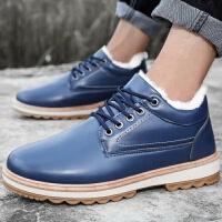 2019男士雪地靴加绒加厚保暖靴子男韩版皮鞋棉鞋毛靴棉靴