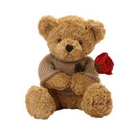 泰迪熊毛绒玩具公仔毛衣熊女抱抱熊生日礼物儿童布娃娃玩偶