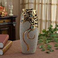 花瓶摆件家用客厅插花干花欧式简约大号落地陶瓷现代简约创意摆设