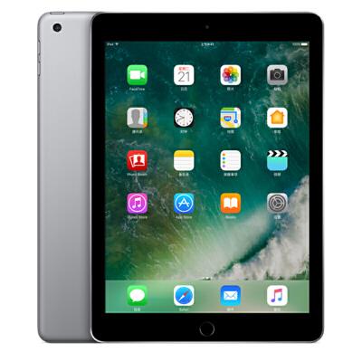 Apple iPad 平板电脑 9.7英寸(32G WLAN版/A9 芯片/Retina显示屏/Touch ID技术 MP2F2CH/A)深空灰色可使用礼品卡支付 国行正品 全国联保