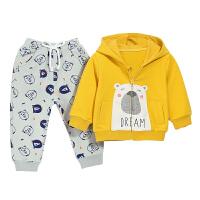 宝宝春装男 婴儿衣服春款儿童两件套运动套装