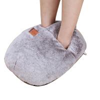 暖脚宝可拆洗插电式暖鞋暖脚器发热电热暖脚垫加热坐垫暖垫电暖鞋