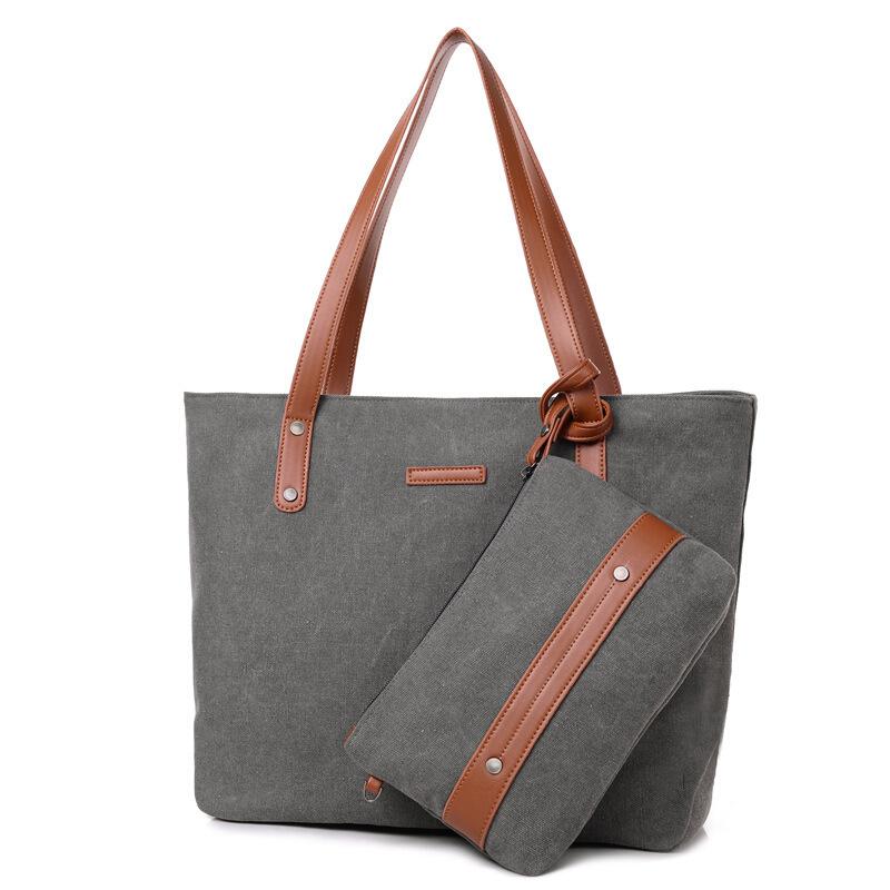 男女包单肩包帆布包文艺范通勤手提包托特包包子母包  每日上新,让您赶上时尚的步伐