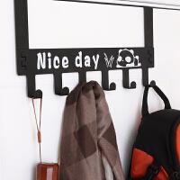 门后挂钩置物架免打孔门上挂衣架门后挂衣架免钉门背式挂勾衣帽架