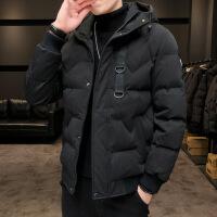 棉衣男士冬季外套韩版潮流短款加厚2019年新款棉袄男冬装