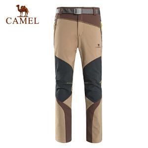 camel骆驼户外冲锋裤 男 秋冬新款防风保暖男裤