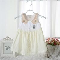 夏装女童连衣裙薄款小女孩背心裙子宝宝夏季衣服0-3岁
