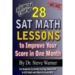 【预订】28 SAT Math Lessons to Improve Your Score in One Month