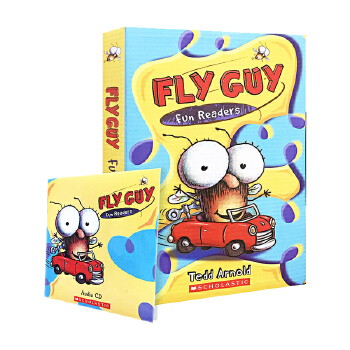 苍蝇小子5册合集(含进口音频)Fly Guy Fun Readers ISBN9789810985011