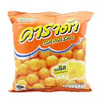 [当当自营] 泰国进口 卡啦哒 Carada 加油啦奶酪味米球(膨化食品)15g