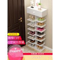鞋架特价简易家用经济型小鞋柜省空间家里人多层门口小鞋架子收纳3pu