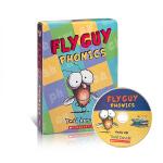 【顺丰包邮】英文进口原版 Fly Guy Phonics Boxed Set (With Cd) 苍蝇小子系列12本附