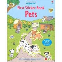 Pets 进口英文原版 宝宝贴纸书:宠物