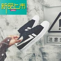 新品上市夏季男士帆布鞋韩版板鞋百搭休闲男鞋学生透气情侣回天之力小白鞋