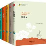 中小学生必读外国名著精选(茶花女+双城记+格兰特船长的儿女+神秘岛+海底两万里)(套装全5册)