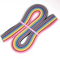 DIY学生40色渐变衍纸条 彩色星星折纸 衍纸画材料包衍纸套装多色