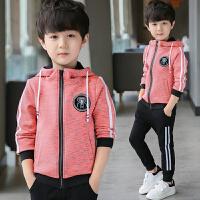 男童套装春秋季童装儿童两件套中大童运动休闲上衣潮