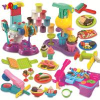 3d彩泥套装diy创意橡皮泥模具工具手工套装儿童玩具超轻粘土 豪华套装(18杯70g彩泥+10杯100g彩泥+6