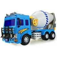 超大混凝土搅拌车模型翻滚车水泥罐车惯性工程车儿童玩具 男孩