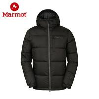 Marmot/土拨鼠男防风加厚拒水鹅绒保暖羽绒服_J73060