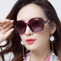 偏光太阳镜女潮大框圆脸近视眼镜墨镜长脸眼睛大脸